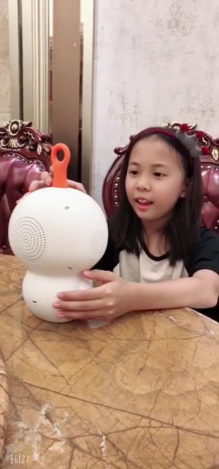卡仕儿童机器人买家视频