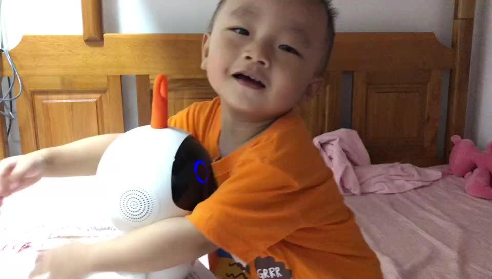 卡仕儿童机器人买家视频2